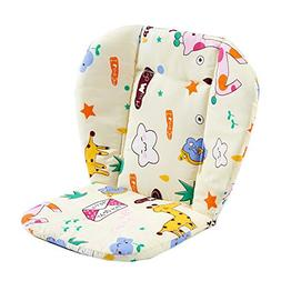 Shuohu Cartoon Pattern Pushchairs Seat Liner Baby Pram Strol