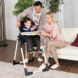 Costzon Baby High Chair, Deluxe Infant Feeding Booster with