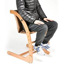 chair feeding highchair wood simple