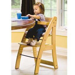 baby chair feeding Highchair Wood Children's fashion simple