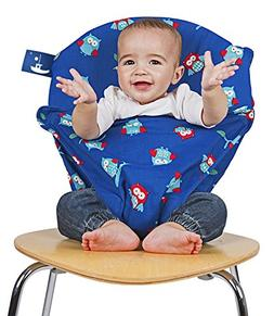 Totseat Chair Harness - Portable Travel High Chair in Night