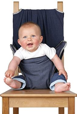 Totseat Chair Harness: The Washable and Squashable Travel Hi