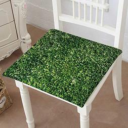 Mikihome Chair Pads Squared Seat Leave Ivy Cover The w Outdo