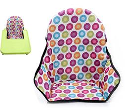 Twoworld Baby High Chair Seat Cushion Dining Chair Liner Mat