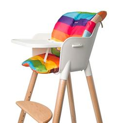 Asunflower Baby High Chair Seat Cushion, Waterproof Oxford B