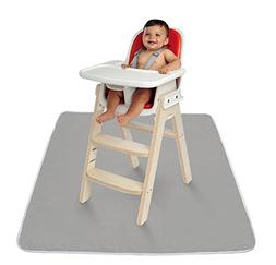Sweet Baby Carrot   High Chair Mat   Easy Cleaning Child Sna