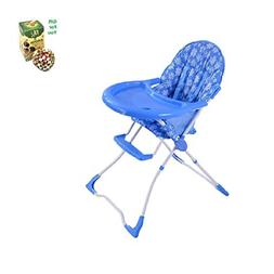 Baby High Chair Infant Toddler Feeding Booster Seat - Blue b