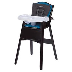 Eddie Bauer Classic Comfort 3-in-1 Wood High Chair Harbor Bl