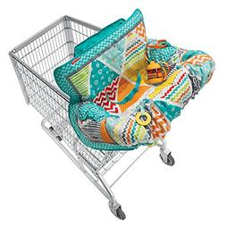 Infantino Compact Cart Cover, Teal, New, Free Shipping