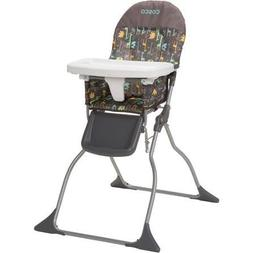 Cosco Simple Fold High Chair, Easy Wipe Seat, Zury
