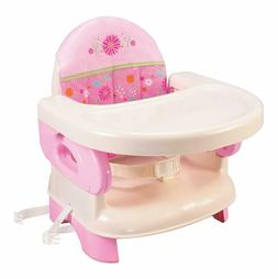 Summer Infant Deluxe Comfort Folding Booster Seat, Pink