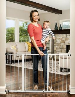 Regalo Easy Open Extra Wide 47 Inch Baby Gate, Bonus Kit, In