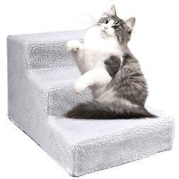 Dog Pet Stairs Steps Indoor Ramp Portable Folding Animal Cat