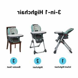 Graco DuoDiner LX 3 in 1 High Chair, Converts to Dining Boos