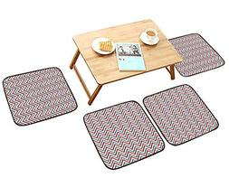 HuaWu-home Elastic Cushions Chairs Geometric Simple Cloth Dr