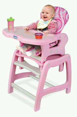 Envee Baby Toddler & Kids High Chair with Play Table Convers