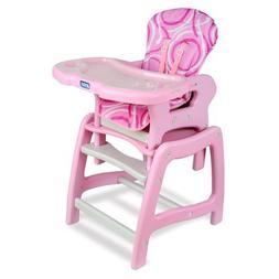 Badger Basket Envee Baby High Chair with Playtable Conversio
