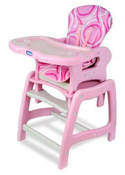 Badger Basket Envee Baby High Chair with Playtable Conversio