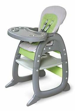 envee ii baby high chair with toddler