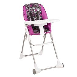 Evenflo Symmetry Flat Fold High Chair in Daphne, 40.2 inches