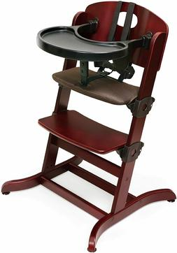 Badger Basket Evolve Convertible Wood High Chair with Tray