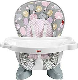 Fisher-Price Space Saver High Chair Seat Pad Brilliant Blush