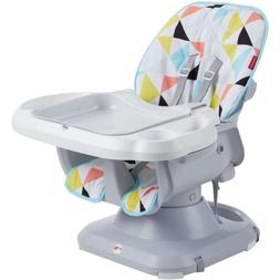 Fisher-Price SpaceSaver Adjustable High Chair Windmill Baby