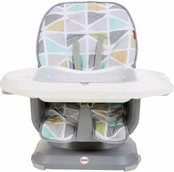 Fisher-Price SpaceSaver High Chair - Green/Grey