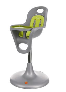 flair high chair gray green
