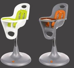 Boon Flair Pedestal High Chair - White & Gray