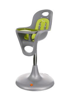 Boon Flair Pneumatic Pedestal High Chair in Grey Green