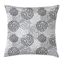 Ambesonne Floral Throw Pillow Cushion Cover, Mixed Florets P