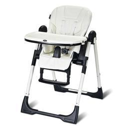 Folding High Chair for BabiesToddlersBackrest Multiple A