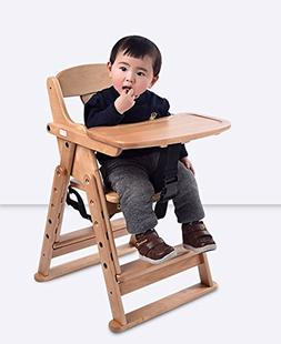 Folding Baby Highchair Detachable Baby Eating Chair Seat Mul