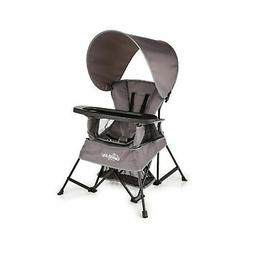 Baby Delight Go With Me Portable Travel Kids Chair Gray w/ C