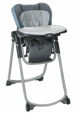 Graco Slim Spaces High Chair Compact Alden Baby New