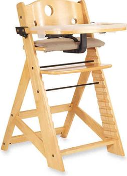 height right high chair with tray in