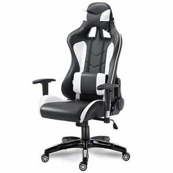 Costway High Back Executive Racing Reclining Gaming Chair Sw