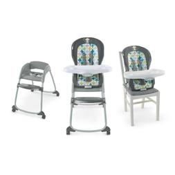 High Chair 3 for 1 Full Size high chair booster seat and tod
