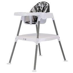 ZOE High Chair 4-in-1 High Chair, Grey Blocks