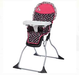 High Chair Disney Baby Adjustable Tray Foldable Portable Com