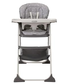 Graco Slim Snacker High Chair | Ultra Compact High Chair, Wh