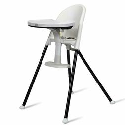 INFANS High Chair Folding, 3 in 1 Convertible Highchair with