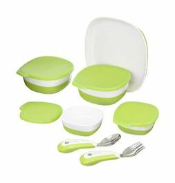4moms high Chair Magnetic Plate, Bowls and Utensils Feeding