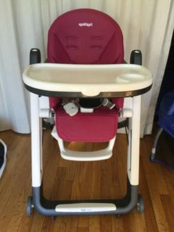 High Chair Peg Perego Siesta Color -  Berry  Pick Up