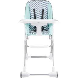 High Chair Evenflo Symmetry Flat Fold Spearmint Spree