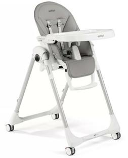 Peg-Perego Highchair Prima Pappa Follow Me Ice Grey