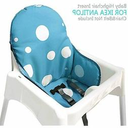 Ikea Antilop Highchair Seat Covers & Cushion by AT, Washable