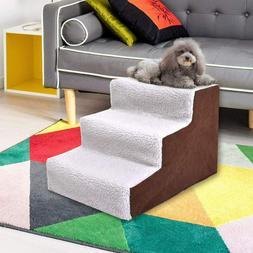 Indoor Dog Steps Ramp Pet Stairs Portable Folding Animal Cat