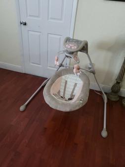 Ingenuity InLighten Cradling Swing - Piper